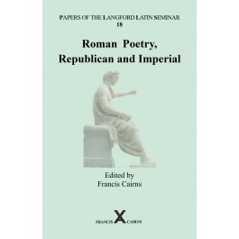 Roman Poetry, Republican and Imperial