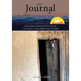 Journal of the Himalayan Institute of Cultural Heritage Studies