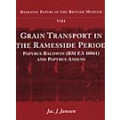 Grain Transport in the Ramesside Period