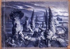 Alan Sorrell painting