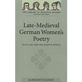Late-Medieval German Women's Poetry