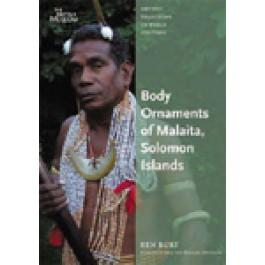Body Ornaments of Malaita, Solomon Islands