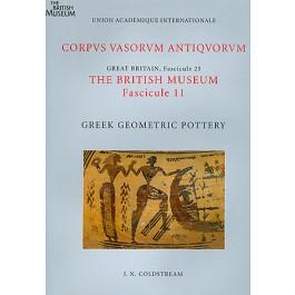Corpus Vasorum Antiquorum, Great Britain Fascicule 25, The British Museum Fascicule 11