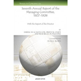 Seventh Annual Report of the Managing Committee, 1907-1908