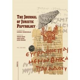 JJP 42 (2012) Journal of Juristic Papyrology