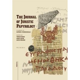 JJP 41 (2011) Journal of Juristic Papyrology