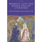 Medieval Latin and Middle English Literature: Essays in Honour of Jill Mann