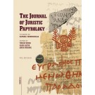 JJP 45 (2015) Journal of Juristic Papyrology