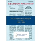 The European Archaeologist: 1 – 21a