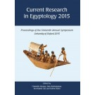 Current Research in Egyptology 16 (2015)