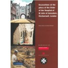 Excavations at the priory of the Order of the Hospital of St John of Jerusalem, Clerkenwell, London