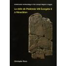 La stèle de Ptolémée VIII Évergète II à Héracléion