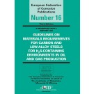 Guidelines on Materials Requirements for Carbon and Low Alloy Steels (3rd Edition)