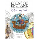 Coins of England Colouring Book