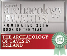 CA book of the year archaeology of caves